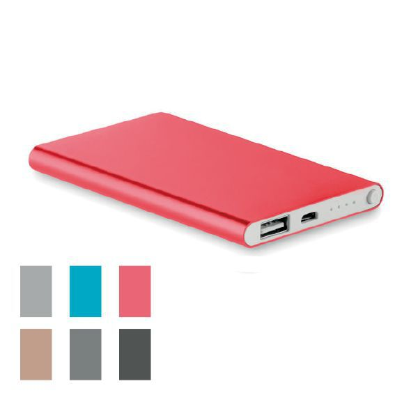 PowerBank - POWERFLAT - 4000 mAh (Produit en Europe)